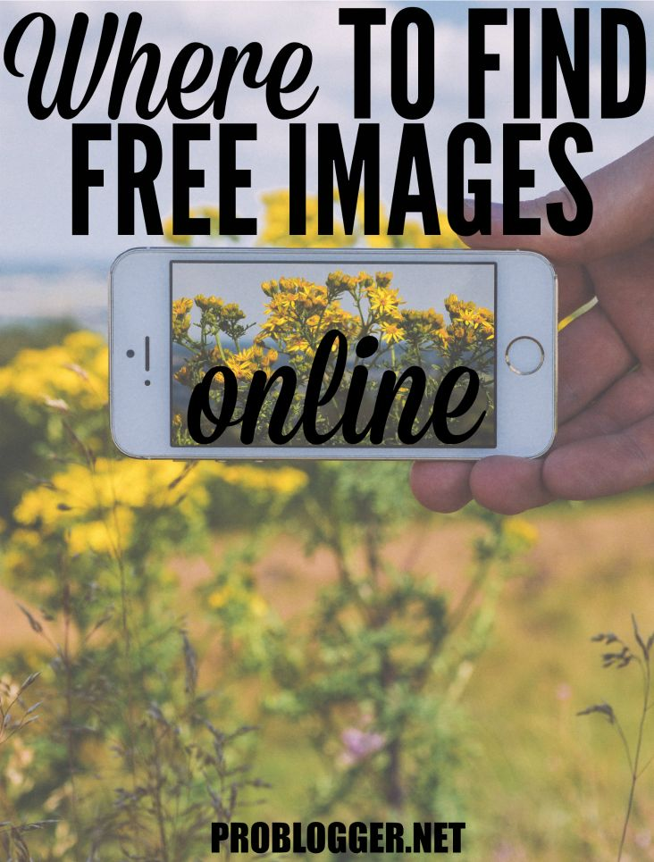 Where to Find Free Images Online - Click For Your Free eBook