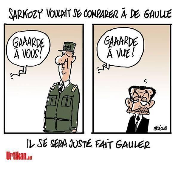 Sarkozy De Gaulle comparaison