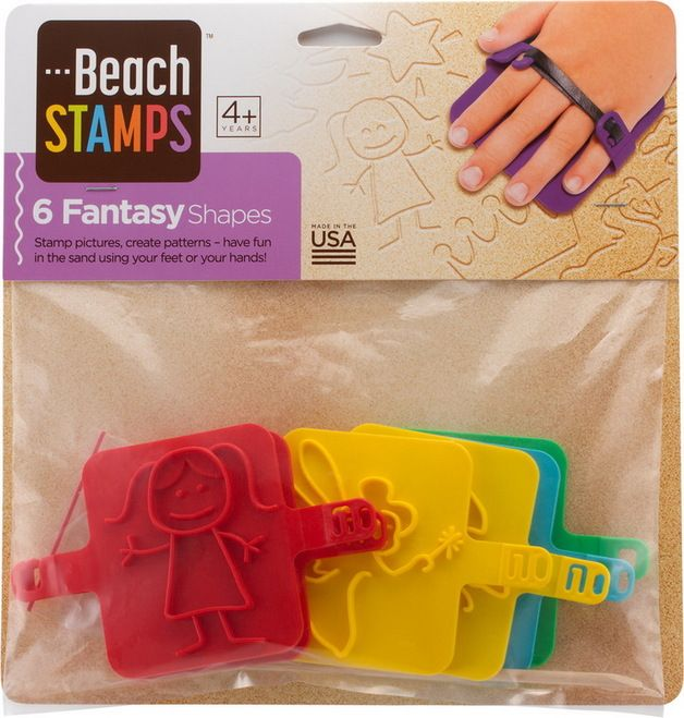 Beach Stamps - Fantasy Shapes