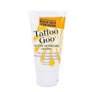 Details about Tattoo Goo ORIGINAL Tattoo Aftercare Lotion - 2 oz Tube