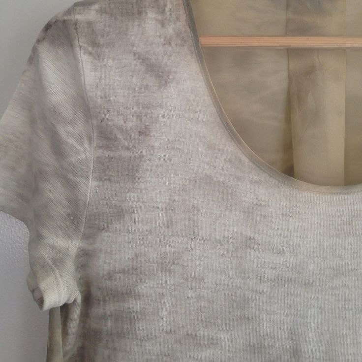 """Rita Summers on Instagram: """"Elegant linen and silk top which I've upcycled shibori style using a solar eco dyeing technique (see earlier posts). Love the subtle…"""" • Instagram"""