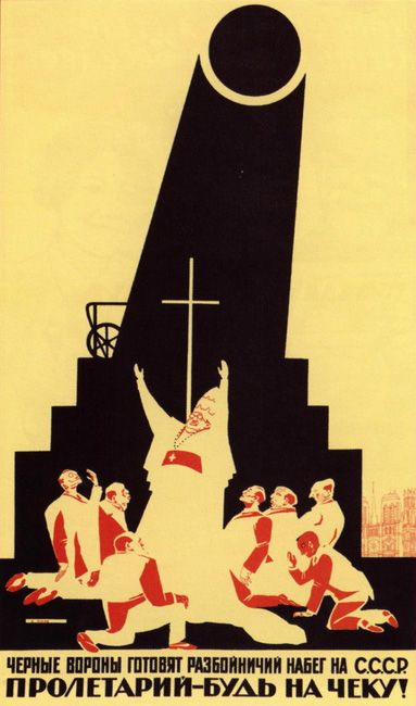 On the the 95th anniversary of the Russian October Revolution RBTH presents a selection of Soviet propaganda posters created by Russian artist Dmitry Moor