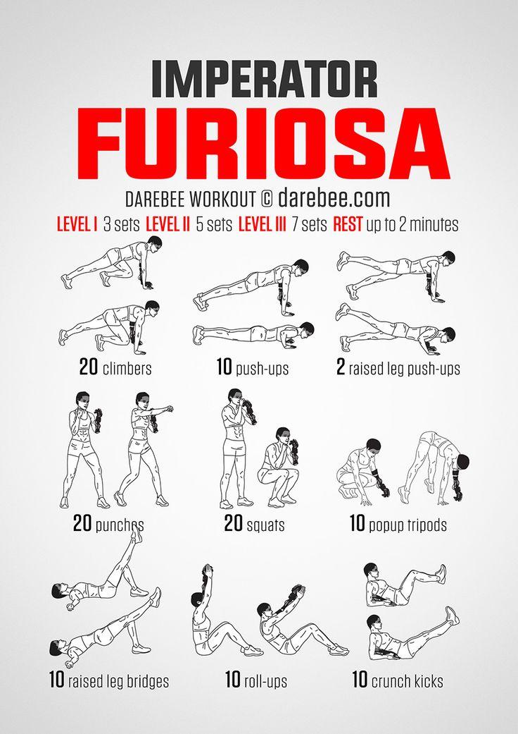 Furiosa Workout (Bionic Arm Edition)