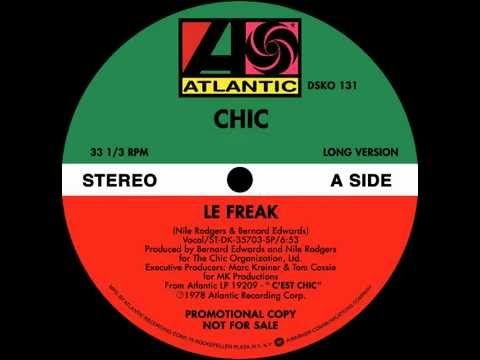 Chic - Le Freak (1978) (extended version) - YouTube