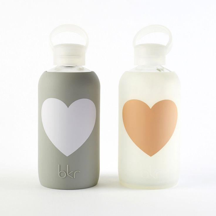 Heart bkr Bottle | Brit + Co. Shop | DIY Online classes, DIY kits and creative products from makers you'll love.
