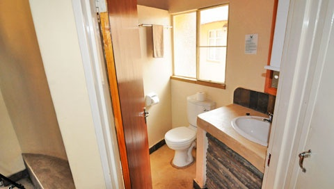 Bungalows are fully equipped with baths and showers.