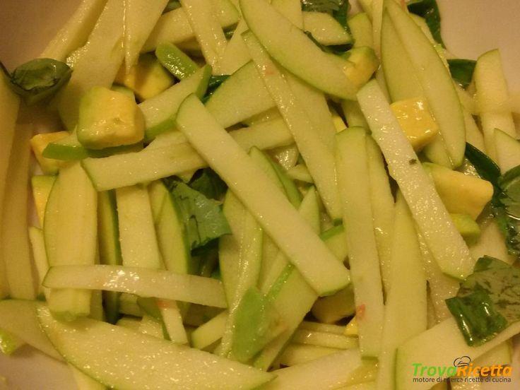Insalata di mele e avocado  #ricette #food #recipes