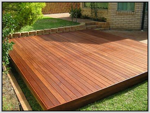 Simple Floating Deck Plans