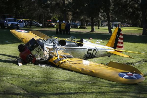 Harrison Ford Seriously Injured in Plane Crash Watch Channel 5 for live updates of Harrison Ford plane crash  http://ktla.com/on-air/live-streaming/