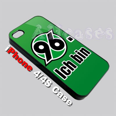 Hannover 96 Germany Bundesliga Logo Custom iPhone 4 or 4S Case   #phonecase #iphone #cases #hardcases #iphone4 #casecovers #accsessories @payu_whae