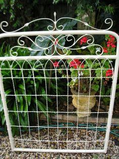 vintage metal garden gates - Google Search