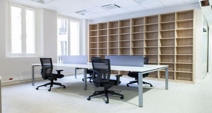 Open space into Fromont Briens' offices in Paris, France