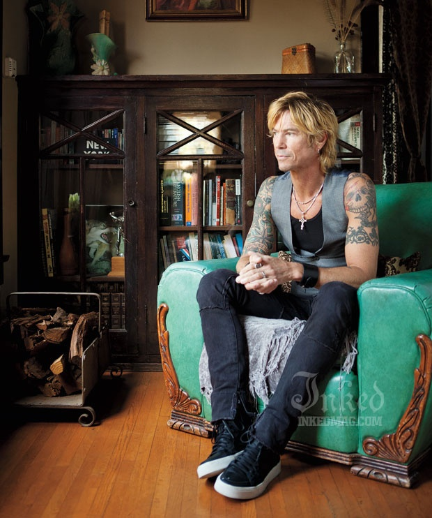 Duff McKagan - Guns N' Roses ..smart guy.