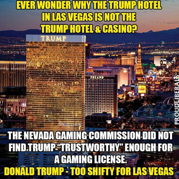 Whoa! Now that's a statement...there definitely isn't a Clinton Casino either !!!