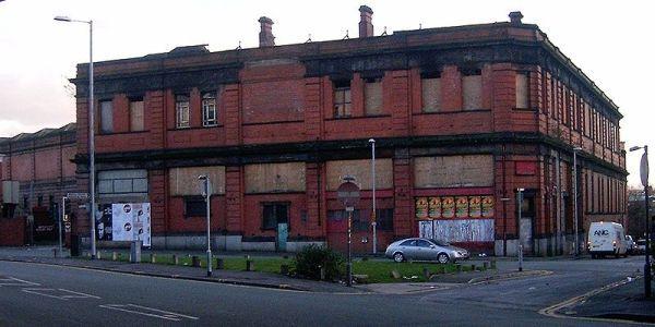 Derelict: Manchester Mayfield Railway Station