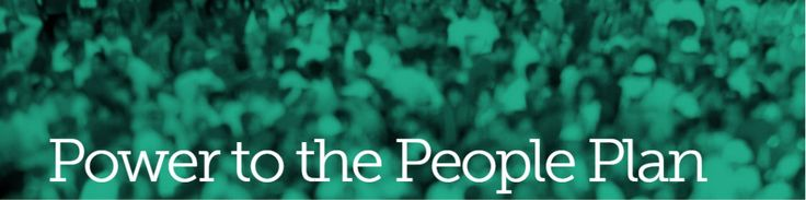 Jill Stein's Power to the People Plan Platform