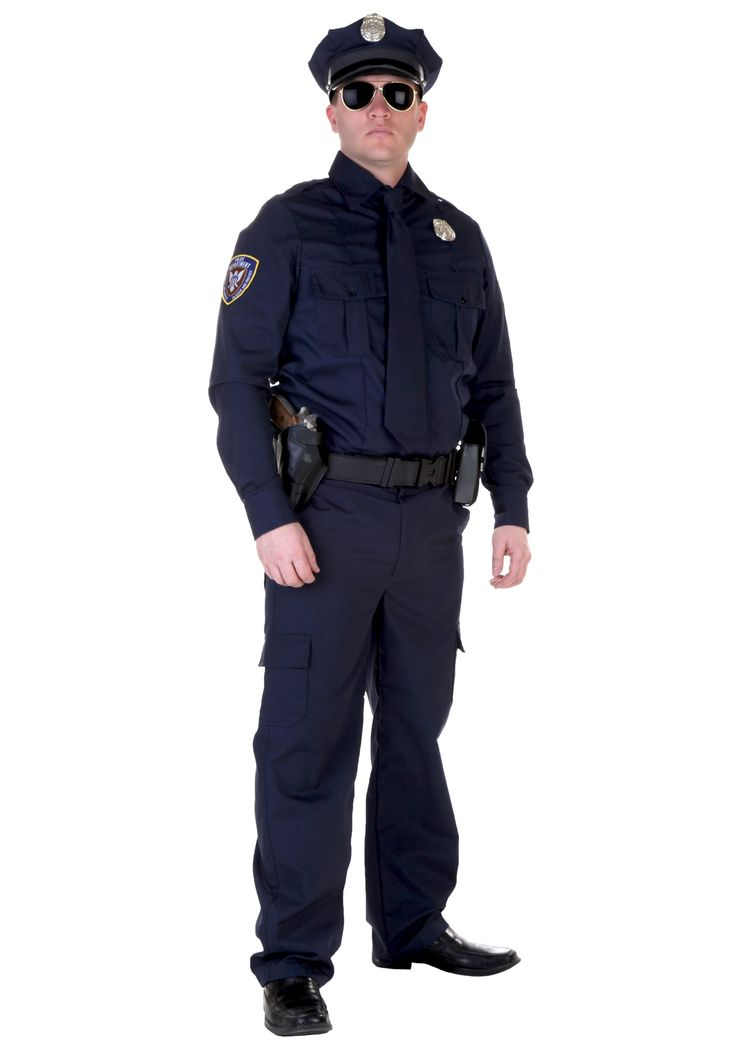 You can really lay down the law when you wear this authentic cop costume. You'll have hours of fun crashing parties in this replica uniform.