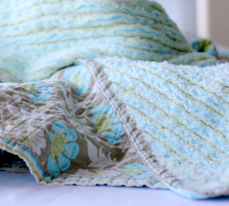 Faux Chenille Blanket | Bandy Canyon