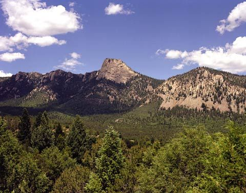 Tooth Of Time At Philmont Scout Ranch Cimarron New