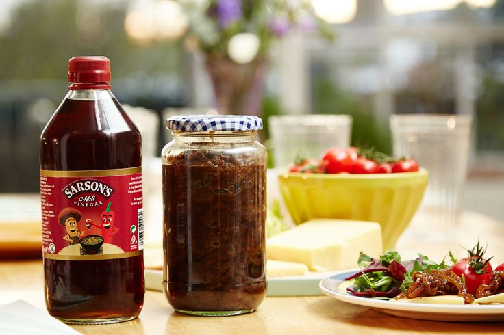 Find out how to make homemade caramelised onion chutney with our easy recipe. Get inspired by our mouth-watering recipes using Sarson's Malt Vinegar.