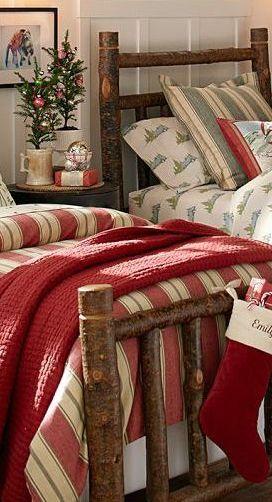 Love The Christmas Bedding~
