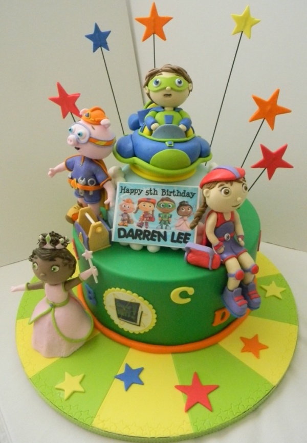 Super Why Birthday Cake