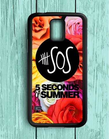 5 Second Of Summer Flower Roses Samsung Galaxy S5   Samsung S5 Case