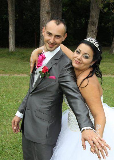 Costume trois pièces, lavallière homme marié, boutonnière fleurs