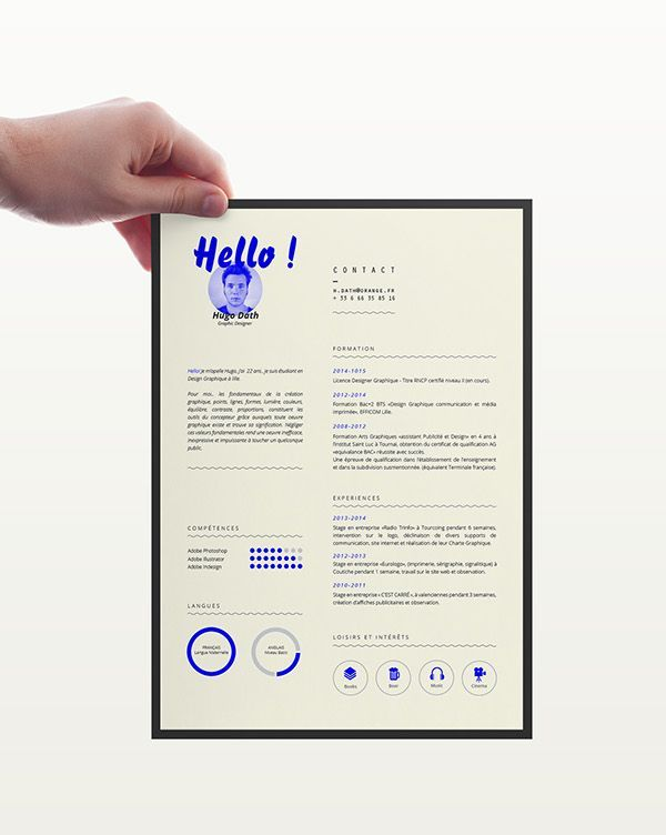 25  best ideas about resume layout on pinterest