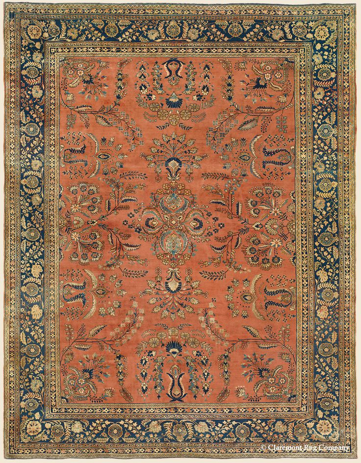 Beautiful MAHAJIRAN SAROUK, West Central Persian, X Circa The Best Mahajiran Sarouks  Are One Of The Most Sought After Persian Carpet Types From The First  Quarter Of ...