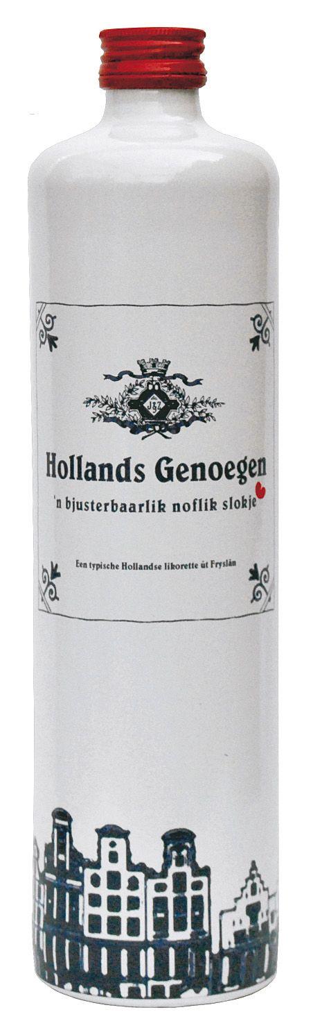 """Hollands Genoegen"", traditional Dutch coffee liquor. #greetingsfromnl"