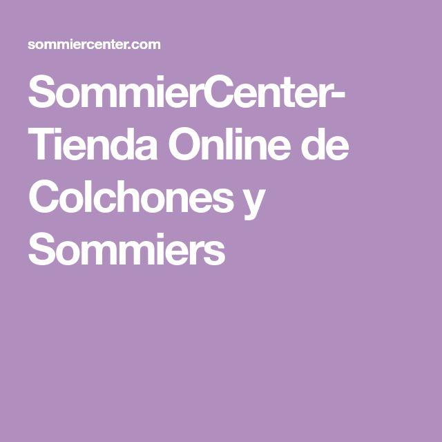 SommierCenter- Tienda Online de Colchones y Sommiers