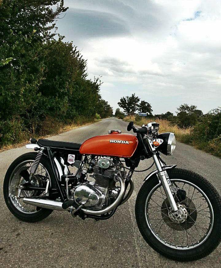 Honda Cb250 Cafe Racer Motorcycle Https Www