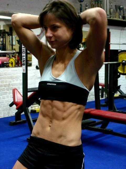 That bodybuilder sarah de herdt