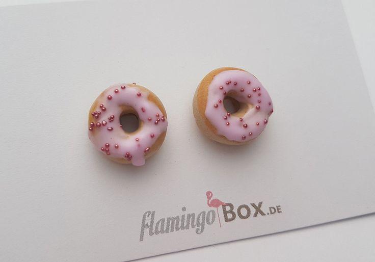 Ohrringe -   Donut-Ohrringe  - ein Designerstück von FlamingoBox bei DaWanda