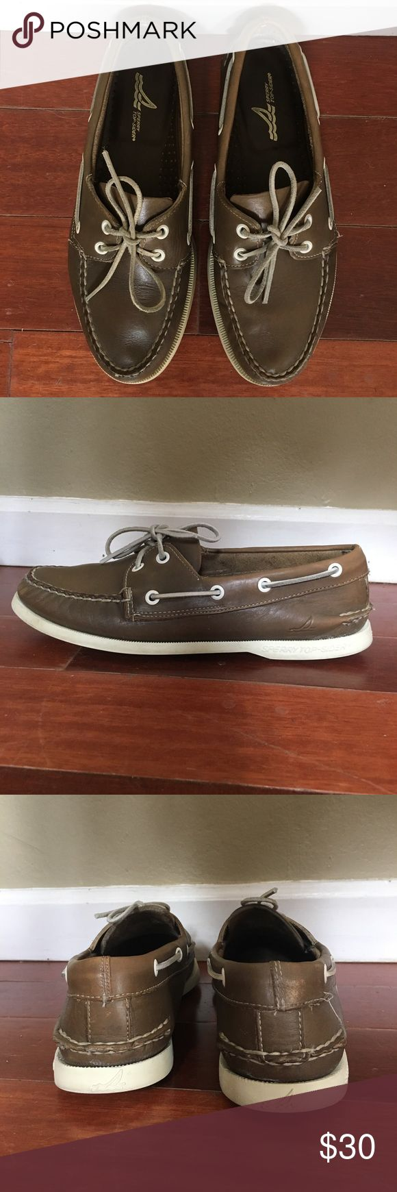 Selling this Sperry Top Siders Men's 6 or Women's 8 on Poshmark! My username is: mohrclosetspace. #shopmycloset #poshmark #fashion #shopping #style #forsale #Sperry Top-Sider #Other