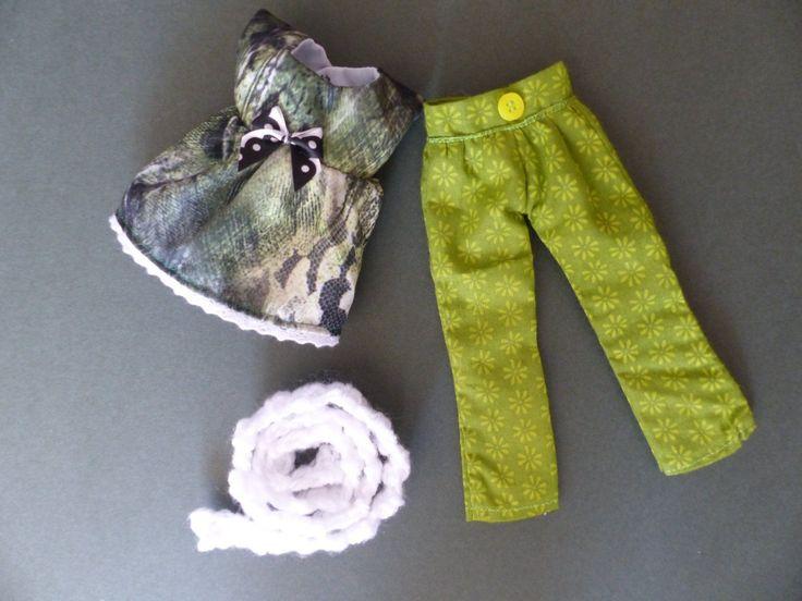 Blythe Doll Outfit *BlytheClothes - Tunic, Trousers and crocheted Scarf, NO DOLL | Jouets et jeux, Poupées, vêtements, access., Autres | eBay!