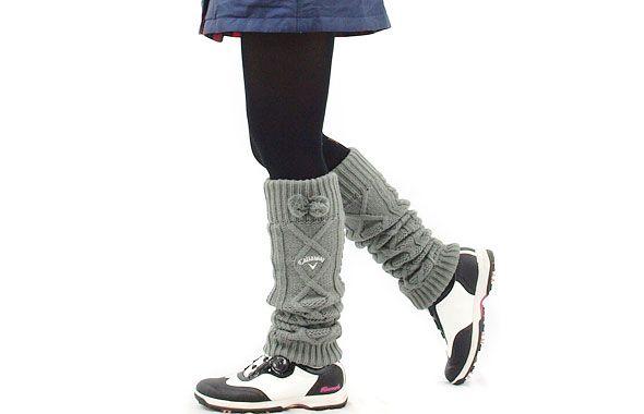 CA 裏フリースニットレッグウォーマー - レディースゴルフウェア通販【CURUCURU select】人気女子ゴルフウェアショップ