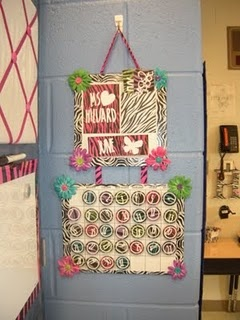 "This blog is called ""teaching in flip flops"" and her classroom is zebra themed.: Classroom Idea, Zebras Classroom, Classroom Decoration, Schools Stuff, Cute Idea, Classroom Themed, Birthday Idea, Flip Flops, Zebras Themed"