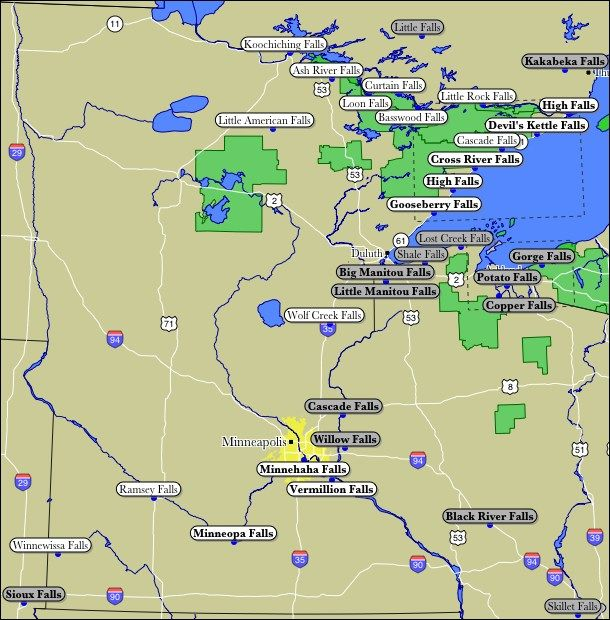 Best Minnesota Images On Pinterest Minnesota Minneapolis - Map of minnesota and wisconsin