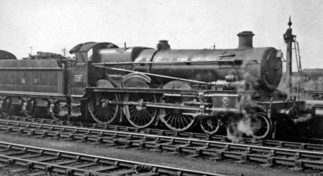 GWR Saint Class 4-6-0 by Churchward, Swindon Works