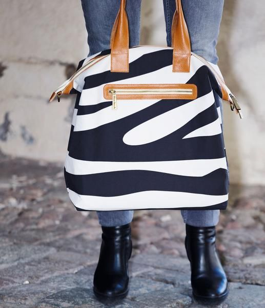 Baby Bag - Elodie Details Zebra Sunshine - Fashionable and practical - Baby Luno