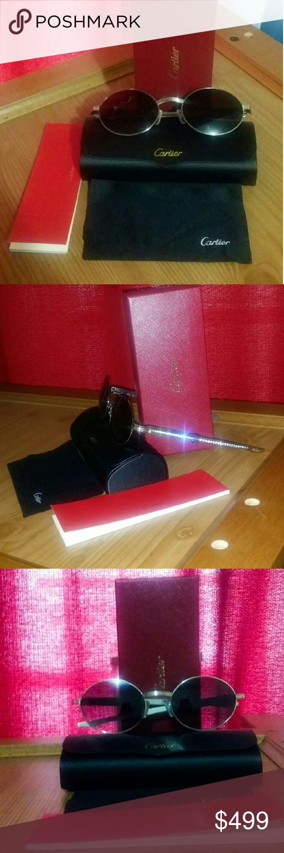 Limited Edition Cartier Luxury sunglasses Limited Edition Cartier Luxury sunglasses   BRAND NEW. Cartier Accessories Glasses