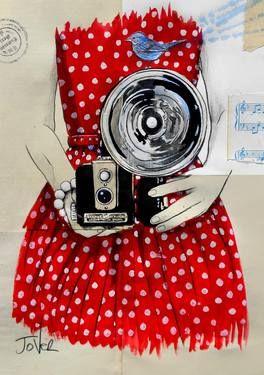"Saatchi Art Artist Loui Jover; Drawing, ""flash"" #art"