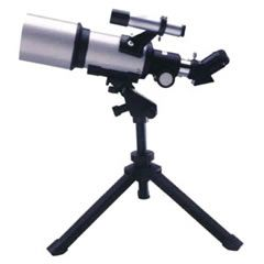 A telescope is an instrument that helps in the observation of remote objects by collecting visible light. It is an optical instrument used to view heavenly bodies such moon, stars, planets and distant objects.   http://www.lab360.co.in/microscopes-telescopes.htm