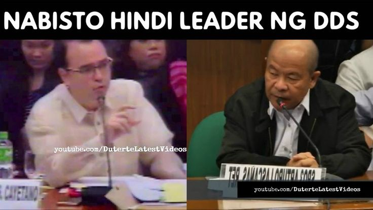 """CAYETANO NABISTO SI LASCAÑAS """"Hindi ka leader kung umpisa hindi ka pa miyembro"""" 