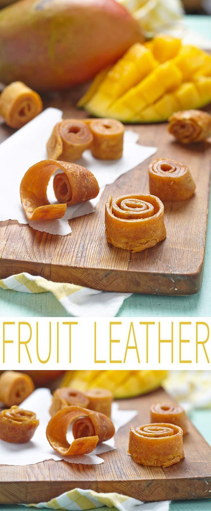 Fruit leather is a healthy snack for everyone. Think of fruit roll ups, but a healthy homemade version that you can feel good about eating. Make fruit leather for the perfect lunch snack.