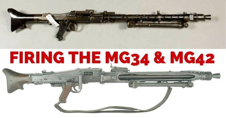 Shooting the MG-34 and MG-42 Speed up and simplify the pistol loading process  with the RAE Industries Magazine Loader. http://www.amazon.com/shops/raeind