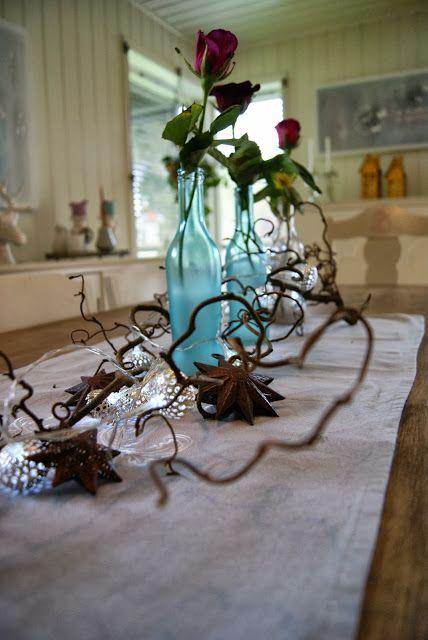 Hobbyvimsa: Dekk et høst bord med det naturen har å by på.