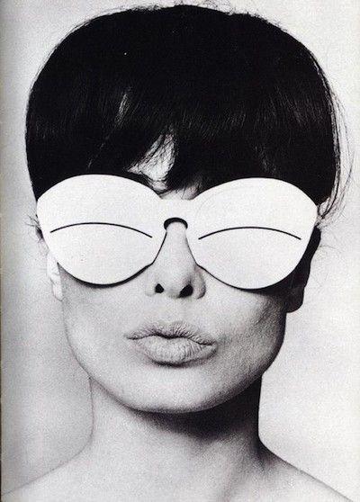 Courreges Vintage Sunglasses Eskimo France Occhiali 1960s